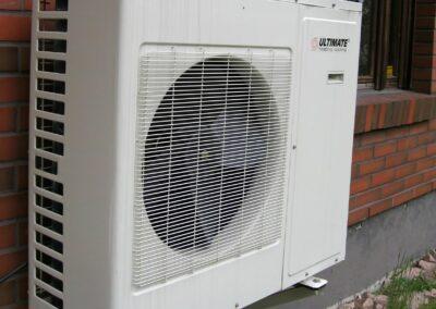 Sustainable heat pump pilot
