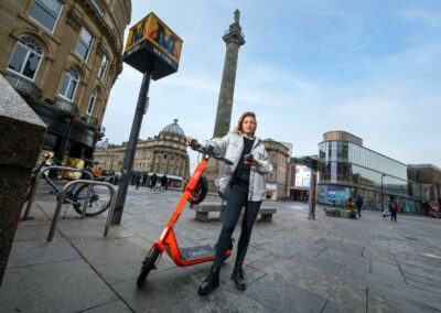 E-scooter trial to reduce congestion and improve air quality