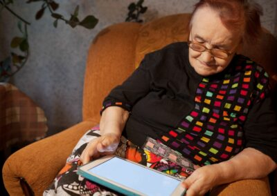 Digital prescribing for falls prevention in reablement services